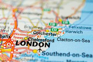 Chelmsford map