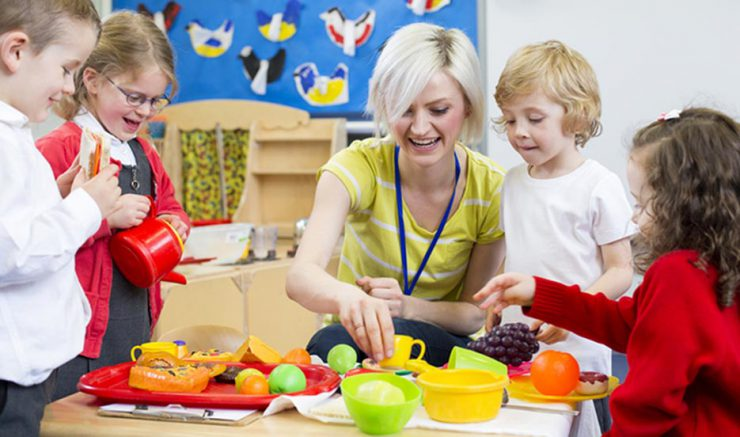 nursery teacher NQT