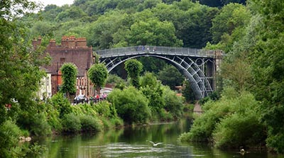 Iron bridge Gorge, a day trip from Wolverhampton