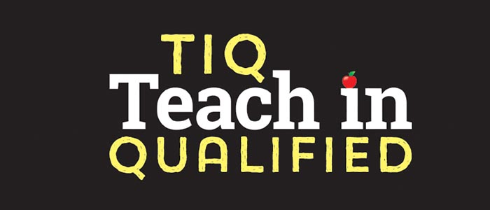 TIQ two year teacher training course