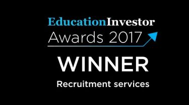 Teach In wins Education Investor Award for Recruitment Services